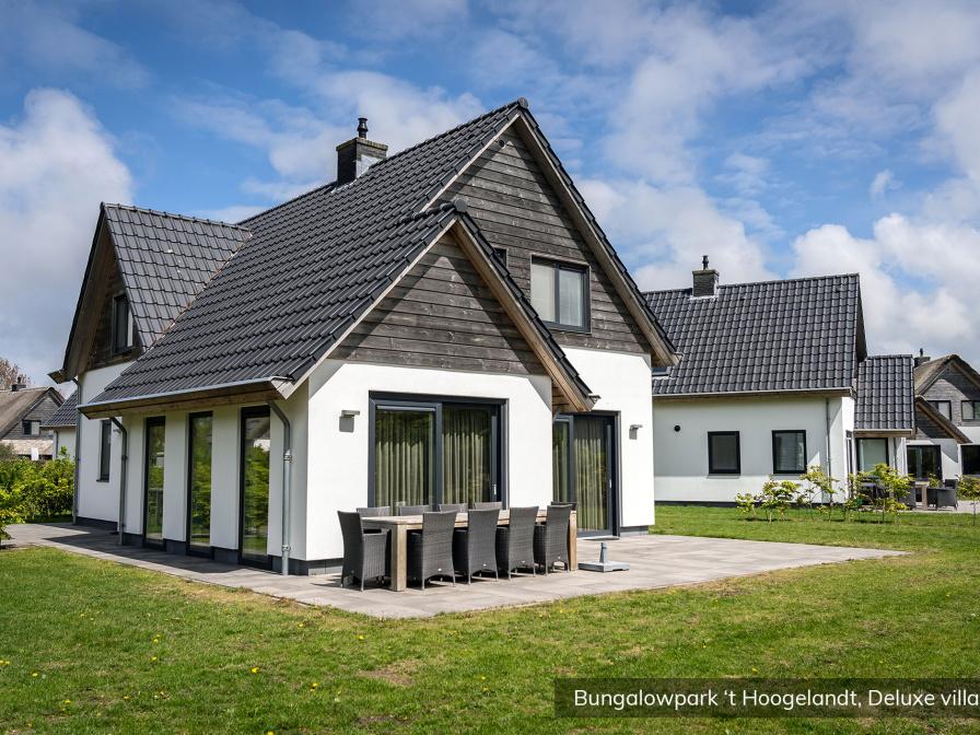 Bungalowpark 't Hoogelandt - Deluxe villa