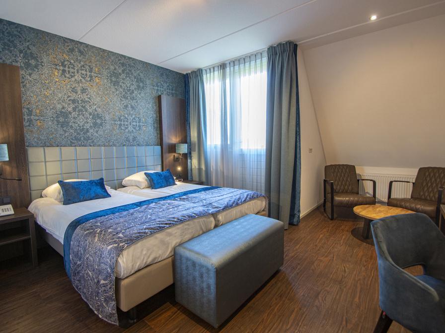 Tweepersoons Deluxe kamer met balkon - Bad/douche/toilet