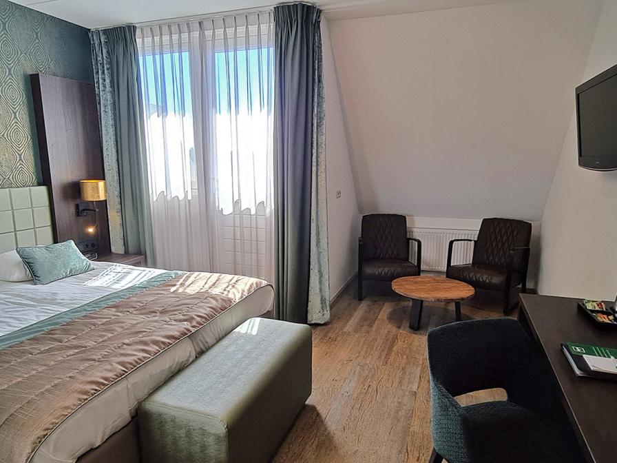 Tweepersoons Privilege kamer met balkon - Bad/douche/toilet
