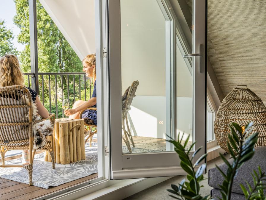 Tweepersoons luxe suite met sauna - Just Relax