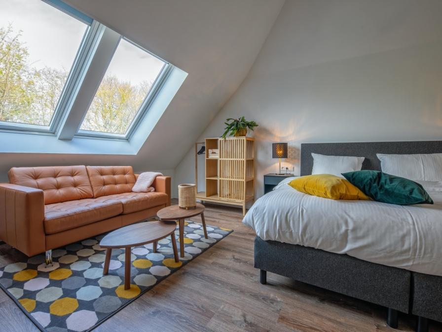 Tweepersoons suite Maarten Tromp - Regendouche/toilet