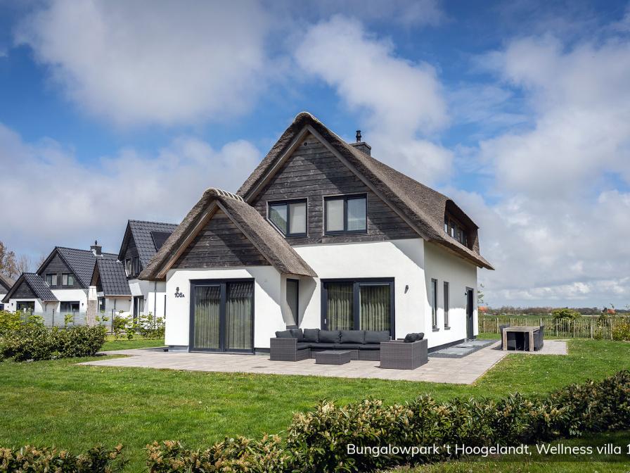 Bungalowpark 't Hoogelandt - Wellness Villa